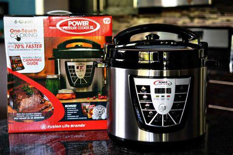 pressure power cooker xl kitchen machine space save cooking steam cook lot