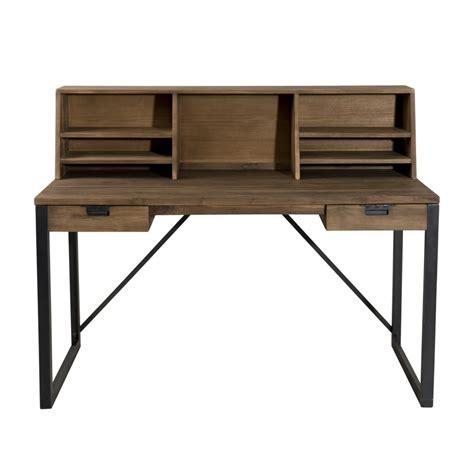 bureau 150 cm bureau bois et metal bureau atelier bois et m tal 150 cm