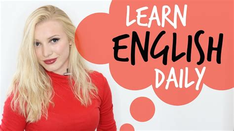 5 Ways To Improve Your English Every Day!  Learn English Daily #spon Youtube