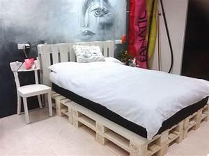 Bett Bauen Aus Paletten : palettenbett super bequem bed and breakfast pinterest palettenbett super und bett ~ Markanthonyermac.com Haus und Dekorationen