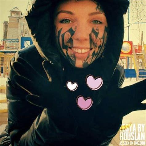face tattoo  pics