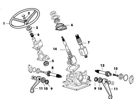 Seal Steering Diagram by E1nn3n632aa Top Ps Gearbox Seal For Ford 2000 3000