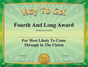 10 best ideas about employee awards on pinterest funny With fun award templates