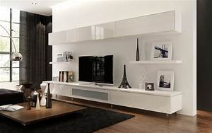 Living room beautiful wall mount shelf ideas with white for Wall mounted living room cabinets