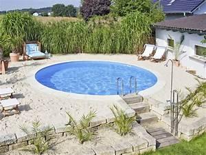Betonplatten Verlegen Auf Erde : pool selber bauen swimmingpool im garten ~ Whattoseeinmadrid.com Haus und Dekorationen