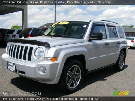 silver jeep patriot interior bright silver metallic 2009 jeep patriot sport 4x4