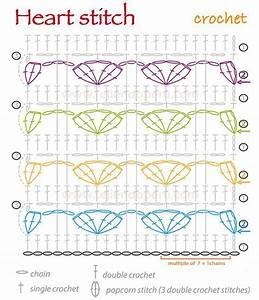 Hearts Baby Crochet Blanket