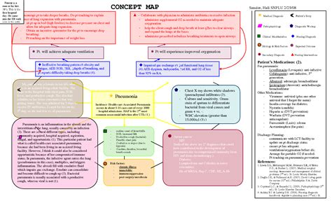 Nursing Diagnosis Concept Maps