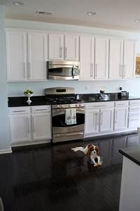 white cabinets dark floor wall color sherwin williams With kitchen colors with white cabinets with charcoal wall art