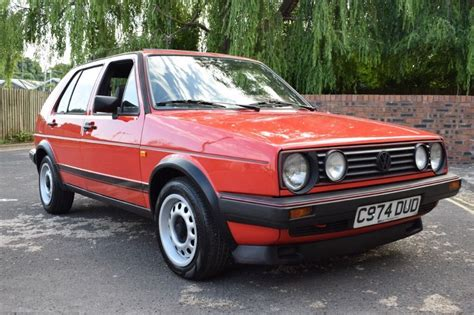 Vw Golf Mk2 Gti 1985 1.8 8v 5dr Red Type 19 Early Model