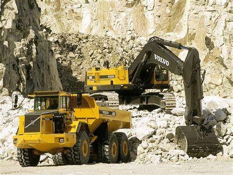 volvo model bm ac quarry construction semi tractor