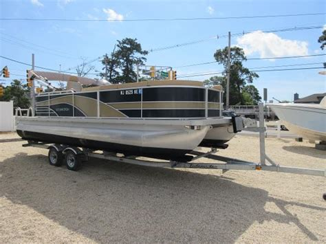 Used Pontoon Boats Greenwood Lake Nj by Used Power Boats Pontoon Boats For Sale In New Jersey