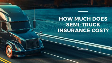 Truck drivers' insurance costs can also vary due to ownership status. How much Does Semi-Truck Insurance Cost? - Barbee Jackson
