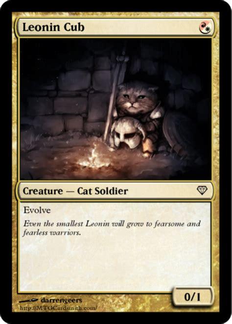 Magic The Gathering Memes - leonin cub magic the gathering know your meme