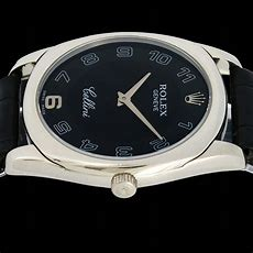 Rolex Cellini 4233 18k White Gold Watchcollectorscouk