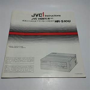 Instructions Manual For Jvc Video Cassette Recorder Hr