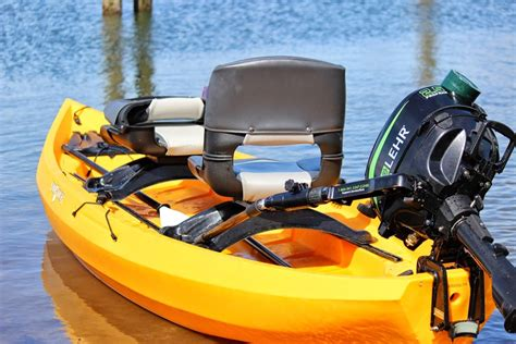 Best Small Boat Gas Motor by Motorized Fishing Kayaks Nucanoe Hunting And Fishing
