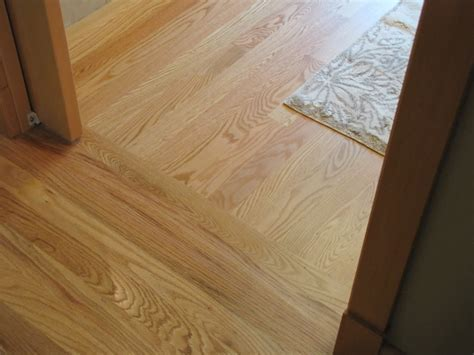 Solid Hardwood Floors Running Different Directions