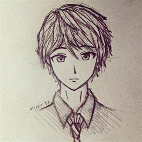 anime cool boy drawing cool anime drawings in pencil boy anime boy drawings in