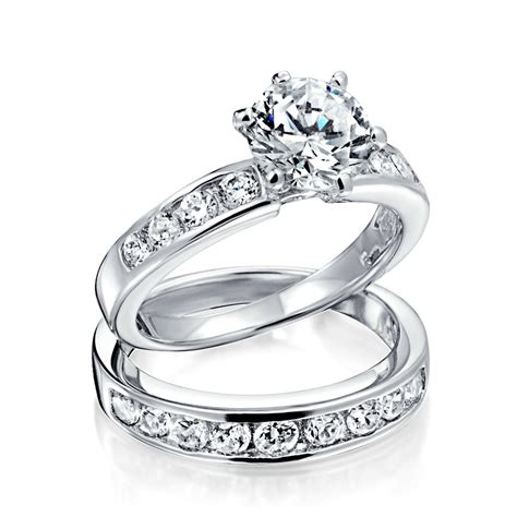 free weight sets for sale vintage cut cz engagement wedding ring set 1 5ct