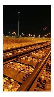 railway, Lights, Night Wallpapers HD / Desktop and Mobile ...