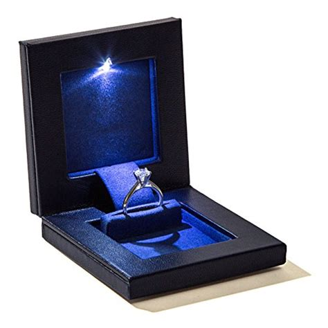 Ring Box With Light by Square Secret Box Light Up Led The World S