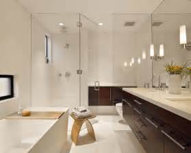Home Interior Design Bathroom Interior Exterior Plan Stylish Modern Bathroom Design With White Finish