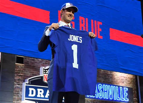 giants select daniel jones dexter lawrence  deandre baker