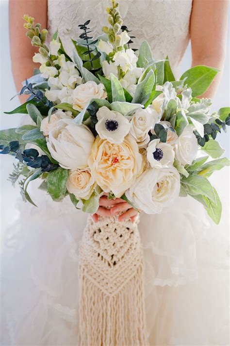 Maybe you would like to learn more about one of these? Custom Boho Bouquet, Silk Flower Bouquet, Artificial ...