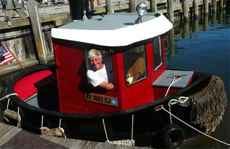 Tugboat Cartoon Name by He Built His Own Version Of Little Toot The New York Times