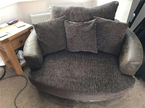 Round Swivel Cuddle Chair 2019   Chair Design
