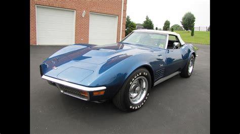 corvette convert  hardtop muscle car  sale
