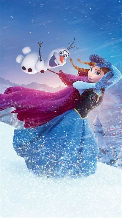 Iphone Disney Frozen Plus Olaf Wallpapers Anna