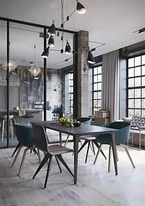 Una Cocina Abierta Al Sal U00f3n De Aire Industrial  U00b7 An Industrial Style Open Space Concept Home