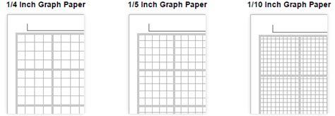 Printable Graph Paper Templates [updated]
