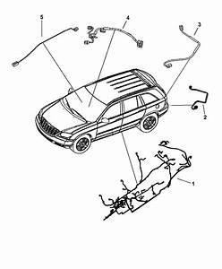 2005 Chrysler Pacifica Wiring - Body