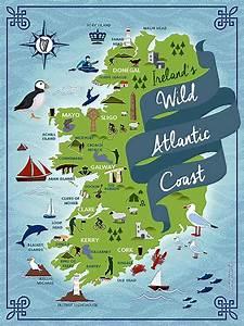 Wild Atlantic Way Irish Throw at IrishShop com LMC89236T