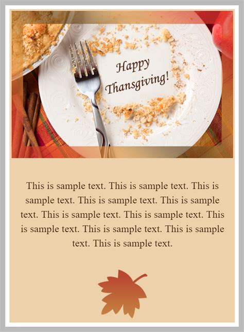 thanksgiving card email template content homeactions