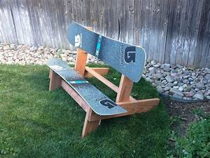 The official disbanded designs snowboard bench - Non-Moto