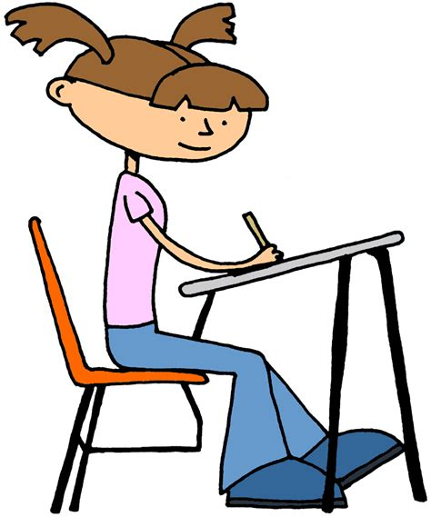 11286 student in class clipart png png test taking students transparent test taking students
