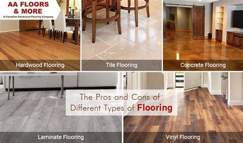 pros  cons   types  flooring aa