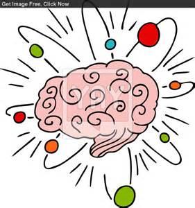 Thinking Brain Clip Art