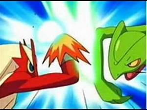 Blaziken Vs Sceptile - YouTube