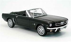 Modellauto Ford Mustang : ford mustang 1964 convertible schwarz offen welly ~ Jslefanu.com Haus und Dekorationen