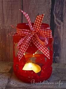 Windlichter Basteln Weihnachten : weihnachten recycling windlicht aus einem konservenglas ~ Yasmunasinghe.com Haus und Dekorationen