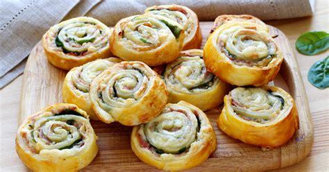 apero avec pate feuillete comment faire des escargots feuillet 233 s pour l ap 233 ro jambon et fromage 11 photos