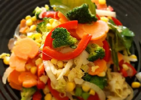 Tumis sawi putih tahu dan tumis sawi putih wortel. Resep Tumisan Pelangi (wortel,brokoli,sawi putih,jagung,paprika) oleh Griya Syar'i - Cookpad