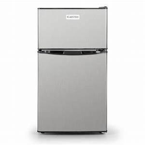 Kühlschrank 80 Liter : big daddy cool k hlschrank 80 liter klasse a edelstahl schwarz silber 80 klarstein ~ Markanthonyermac.com Haus und Dekorationen