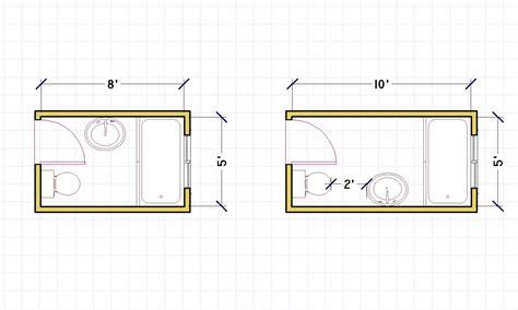 best 5 x 7 bathroom layout 25189