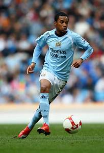 Robinho in Manchester City v Sunderland - Premier League ...
